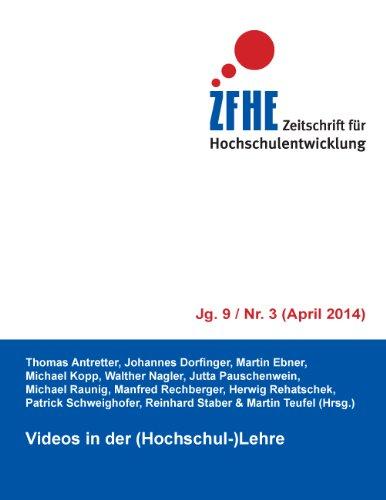 Videos in der (Hochschul-)Lehre (Zeitschrift für Hochschulentwicklung)