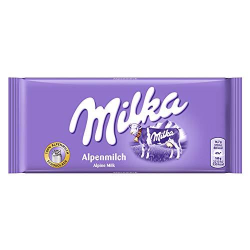 ミルカ アルペンミルク 100g×24袋