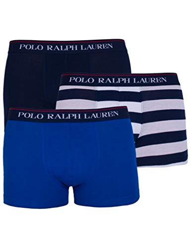 Polo Ralph Lauren Hombre Calzoncillos Paquete de 3 - Classic Trunks, Stretch Cotton