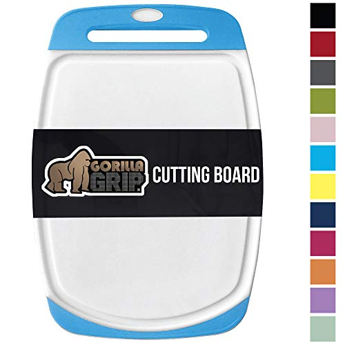 Gorilla Grip Original Oversized Cutting Board, 3 Piece Set