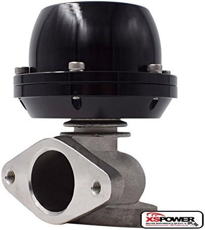 Universal 38mm External Turbo Wastegate Popularity Daily bargain sale 2-Bolt Black WG