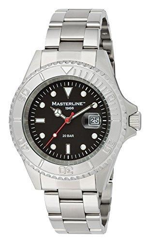Masterline ML06190002–Armbanduhr Herren, Armband in Edelstahl