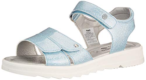 Dockers by Gerli Damen Girl Fashion Sandal Slipper, hellblau, 41 EU