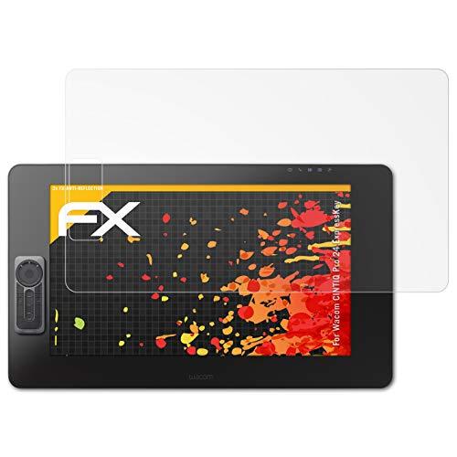 atFoliX Pellicola Protettiva per Wacom CINTIQ PRO 24 ExpressKey Protezione Pellicola dello Schermo, antiriflesso e Ammortizzante FX Pellicola Proteggi (2X)