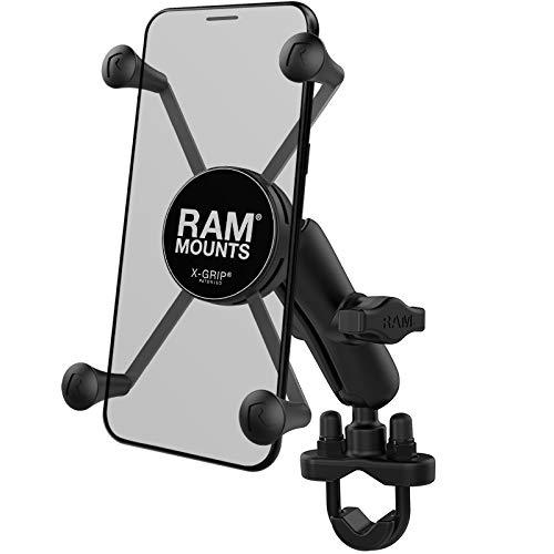 Ram-Mount Mount Aktive Motorradhalterung für Handy, schwarz