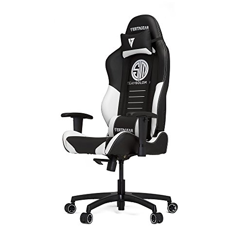 Vertagear TSM Racing Series Gaming Chair,Large,Black/White