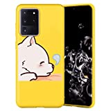 Yoedge Yellow Silicone Case for Samsung Galaxy S30
