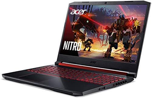 2020 Premium Acer Nitro 5 15 Gaming Laptop 15.6 inch Full HD IPS 9th Gen Intel 4-Core i5-9300H( i7-7700HQ) 16GB DDR4 1TB PCIe SSD 1TB HDD 4GB GTX 1650 Backlit KB Win 10 + iCarp Wireless Mouse