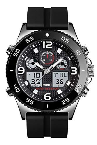 Reloj - SKMEI - Para Hombre - Lemaiskm1538 silver silicone