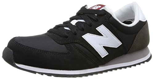 New Balance Herren 420 70s Running Sneakers, Schwarz (Black/White), 37 EU