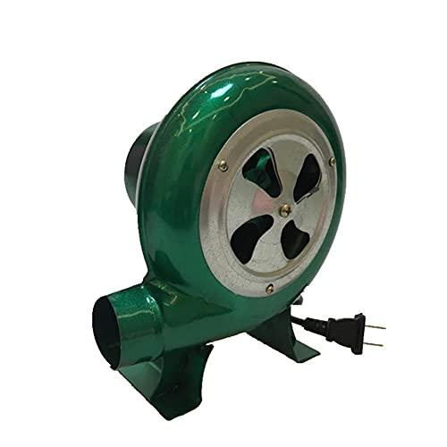 FHKBK Soplador de Barbacoa eléctrico de 220 V, Ventilador de Viento Ajustable...