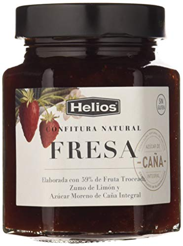Helios Confitura Natural de Fresa - 330 gr