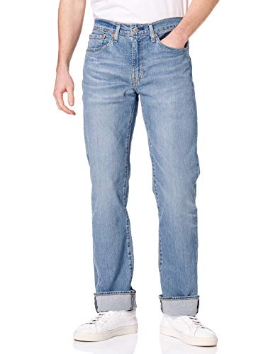 Levi's 514 Straight Jeans Vaqueros, Tabor Thoughts, 33W / 30L para Hombre