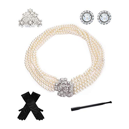 Utopiat Costume Jewelry and Accessory Set Audrey Hepburn Breakfast at Tiffany#039s without gift box
