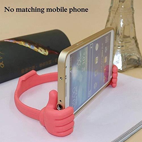 RoxTop Thumb Telefonhalterung Universal-Handy-Halter Durable Handy-Halter für Geschenke Exquisite Telefon Bracket rot