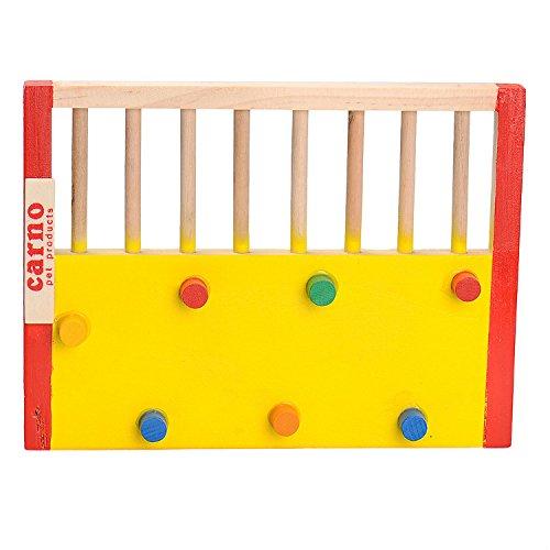 Kleintier Aktivität Spielzeug Aktivität Hamster Turnhalle Rutsche aus Holz - 4