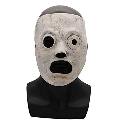 DJ Masque DJ Slipknot Corey Taylor Djustable en latex pour Halloween - Corey Taylor Mask
