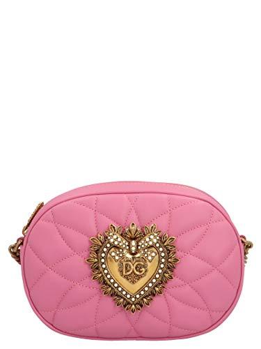 Luxury Fashion | Dolce E Gabbana Donna BB6704AV96786163 Rosa Borsa A Spalla | Primavera Estate 20