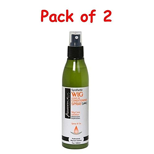 Awesome Synthetic Wig Leave-In Conditioning Spray / 7 oz/Pack of 2