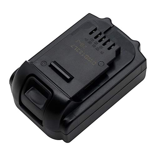 18V 2.0Ah Lithium-ion Replacement Battery for Dewalt DCB183 DCB183B DCB184 DCB185 DCB186 DCB187 DCB200 DCB201 DCB181-XJ DCD740 DCF620 DCF880 Cordless Power Drill Tools Batteries