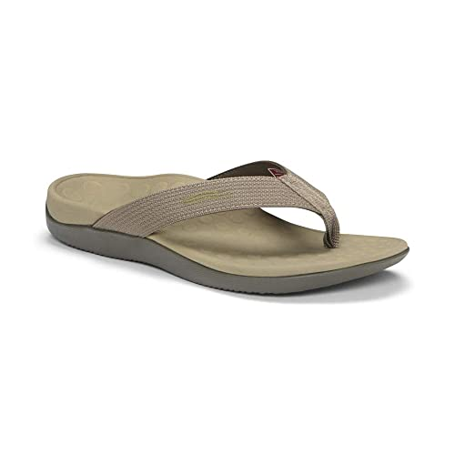 4f599f66e73c Vionic Unisex Wave Toe-Post Sandal - Flip-Flop with Concealed Orthotic Arch  Support