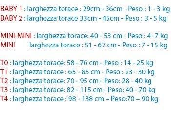 Mini-Mini JULIUS K9 harnais Orange 2 Etiquettes personnalis/ées Poitrail : 40-53cm