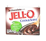 Jell-o, Pudding & Pie Filling, Chocolate (Pack of 4)