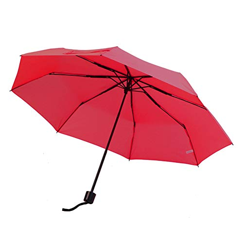 DSFHKUYB Mini Umbrella with Case Light Compact Design Perfect for Travel Lightweight Portable Parasol Outdoor Sun&Rain Umbrellas,Red