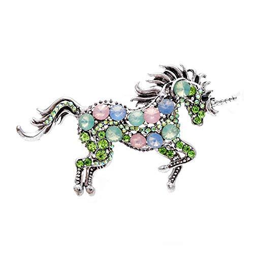 YSCSTORE HumoliStore 7 Colores para Elegir el Broche de Rhinestone de Las Mujeres, 8.7cm *...