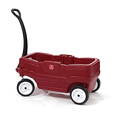 Step2 Neighborhood Wagon with Seats, Red from Step2