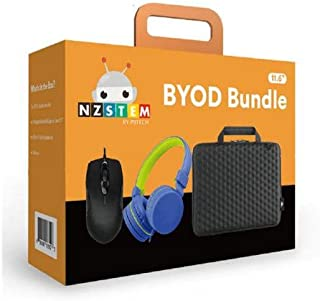"""NZSTEM Laptop/Notebook 11.6"""" Education BYOD Kit Include one 11.6"""" Hard Shell Case, one Kid Headset and one Wired Mouse"""