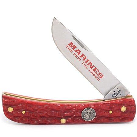 Case Cutlery ca13180, Couteau de Poche Unisexe – Adulte, Rouge, Taille Unique