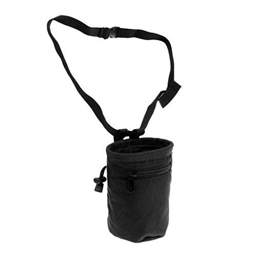 Gazechimp Magnesiabeutel mit Bauchgurt Reißverschluss - Chalk Bag perfekt zum Klettern und Bouldern Turnen Gewichtheben