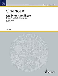 Grainger: Molly on the Shore for String Quartet - Score & Parts