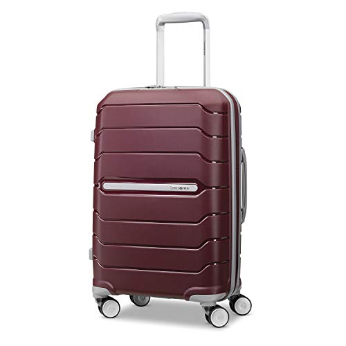 Samsonite Freeform Expandable Hardside Luggage with Double Spinner Wheels, Merlot