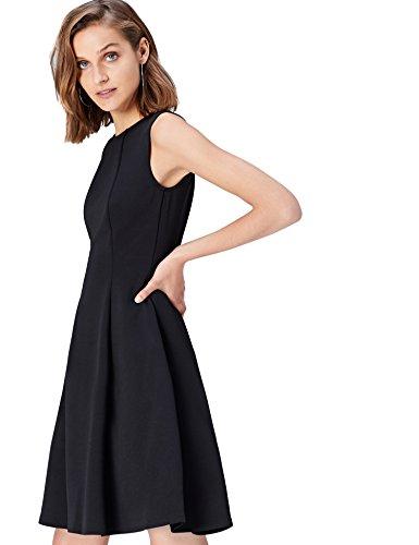 Marca Amazon - find. Pantalón Casual de Pierna Ancha para Mujer