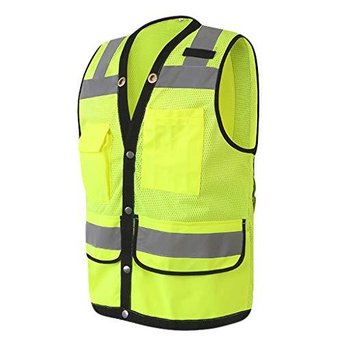 ehind Gilet/reflechissant Gilet de s/écurit/é Engineering Safety Protection v/êtements de s/écurit/é L//XL//XXL