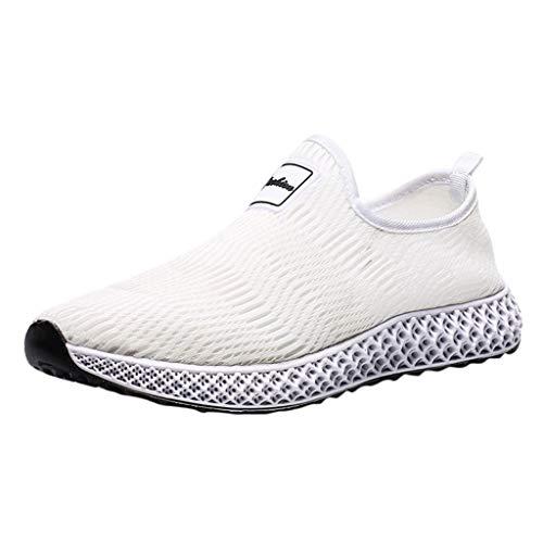 Makalon Herren Sportschuhe Socken Schuhe Laufschuhe, Unisex Mode Sneakers Turnschuhe Fitnessschuhe Männer Atmungsaktive Freizeit Schuhe Outdoor Wanderschuhe Straßenlaufschuhe Leicht
