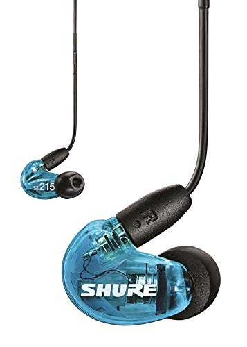 Shure SE215 Auricular con RMCE-UNI, Azul