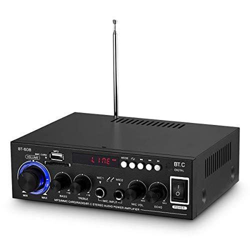 Bluetooth Home auto boot audio versterker microfoon eindversterker stereo draadloze ontvanger