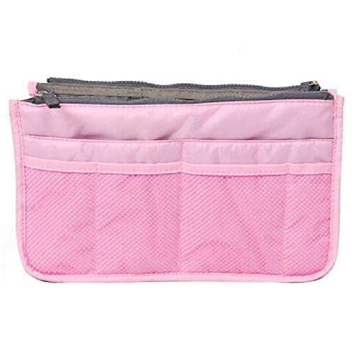 CKY Makeup Bag Organisateur de Voyage Portable Beauty Pouch Functional Bag Toiletry Make Up Makeup Organizers, Pink