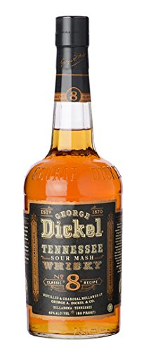 SMALL BATCH George Dickel No. 8 - Tennessee Sour Mash Whisky - 700ml