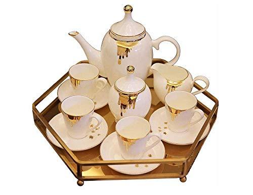 BXU-BG Americana Tarde de café de cerámica Set Europea/Juego de té de la Sala Principal de la Bandeja Decoración