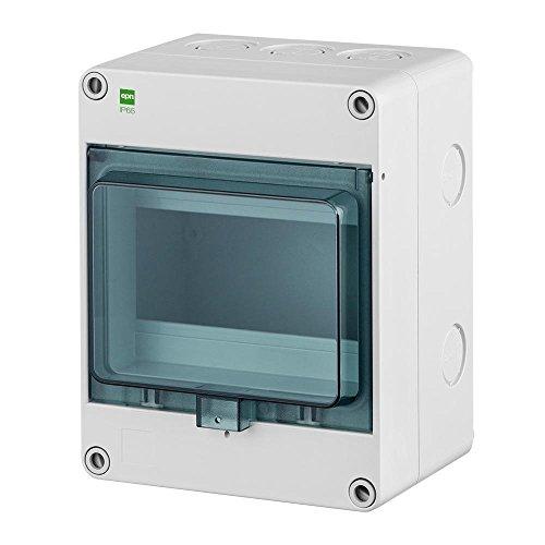 Sicherungskasten IP65 Hermetisch geschlossener Aufputz Verteilerkasten 6 Module