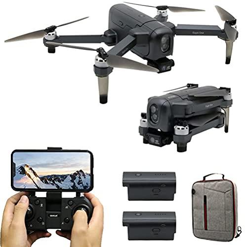 JJDSN Mini FPV Quadcopter con Video en Vivo, GPS Drones con cámara 4K HD para Adultos, 60 Minutos (30 + 30) de Tiempo de Vuelo, evasión Inteligente de obstáculos, Alcance de Control Remoto 2000M,