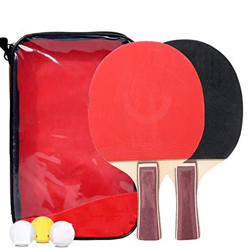Buy ACAO Table Tennis Sets Square Pack Two Packs Training Table Tennis Rackets Entertainment Rackets