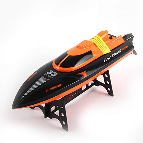 IIIL RC Speed Boat, with Water-Cooled Motor Remote Control Boat Toy Best Gifts for Kids and Adults, for Pools and Lakes