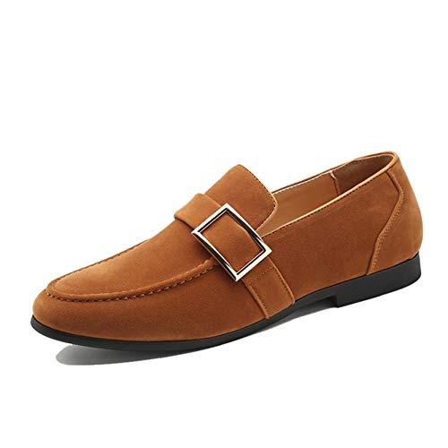 Mocasines para Hombre, Zapatos de Cuero de Primavera y otoño, Zapatos de...