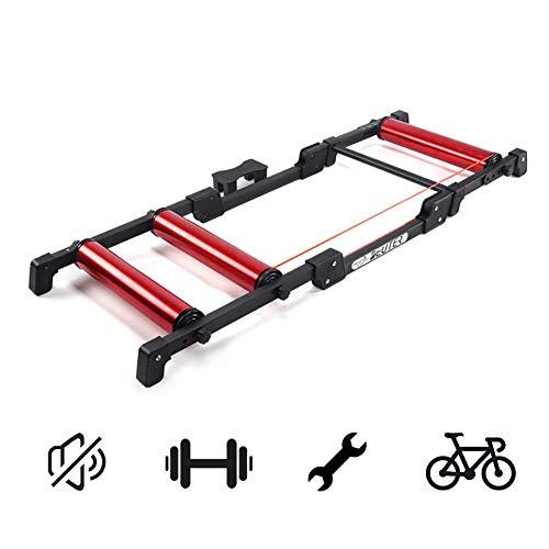 Magnética elíptica Cross Trainer Máquina bicicletas Turbo Trainer, magnético variable bicicletas Trainer cubierta Resistencia bicicletas fijas de entrenamiento Trainer ejercicio del soporte del marco