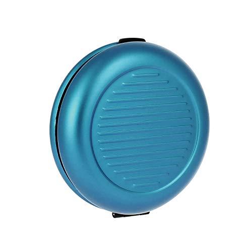 Ögon Smart Wallets - Coin Dispenser in Euro - Distributore di monete - Portamonete in alluminio (Blu)